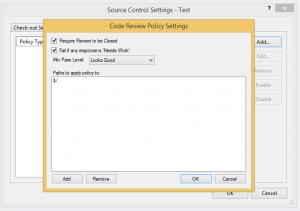 Visual Studio Online Check-In Policies