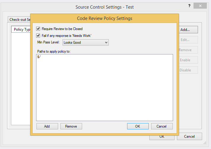 Visual Studio Online Check-In Policies - CodeOpinion