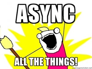 Async Await Exceptions