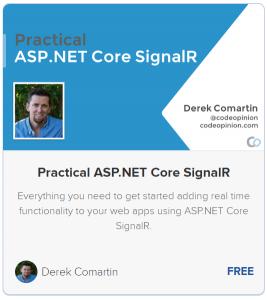 Practical ASP.NET Core SignalR