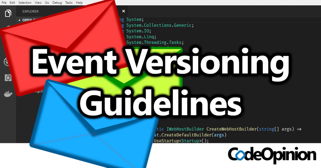 Event Versioning Guidelines