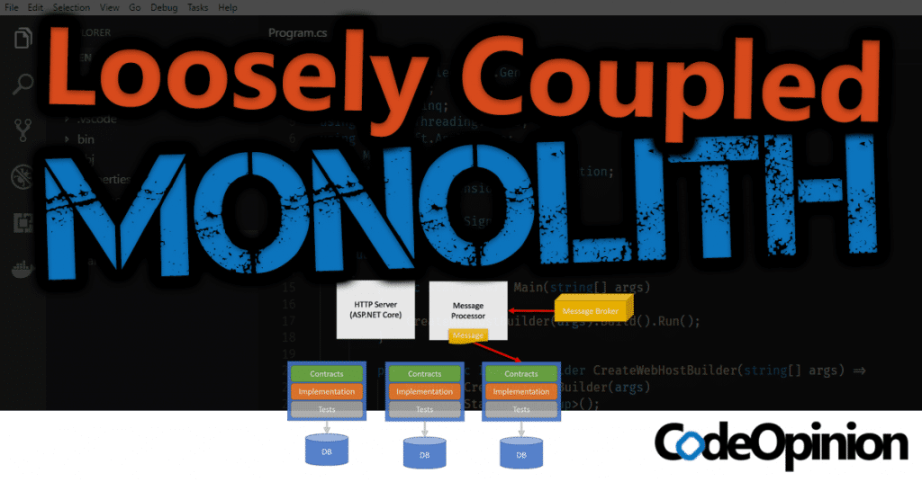 Loosely Coupled Monolith